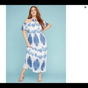 Lane Bryant Maxi Halter dress